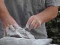 Beelden maken 'Steenhoorn'