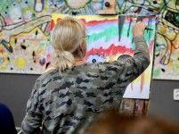 Schilderen en tekenen Art Inn Grote Waal